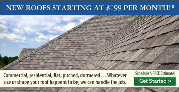 Commercial, residential, flat, pitched, dormered...Whatever size or shape your roof happens to be, we can handle the job.